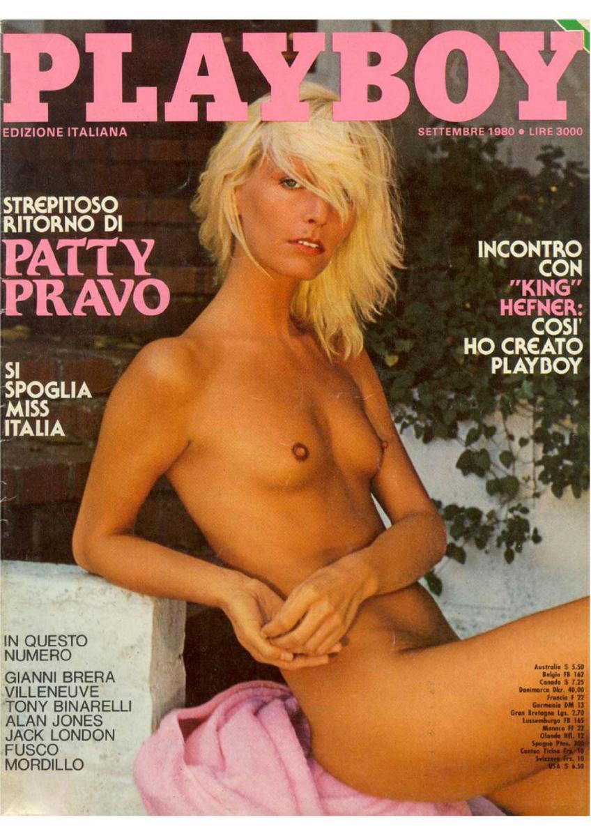 Patty Pravo Playboy 1980