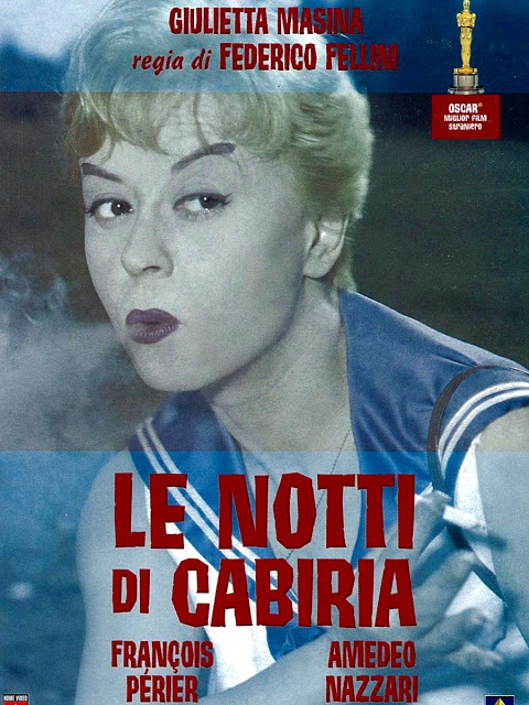 LE NOTTI DI CABIRIA (The Nights of Cabiria – Les Nuits de Cabiria) – Federico Fellini